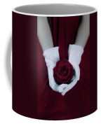 Red Rose Coffee Mug by Joana Kruse