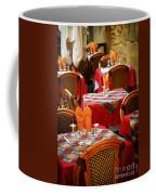 Restaurant Patio In France Coffee Mug