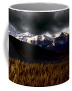 Rocky Mountains In Winter Coffee Mug