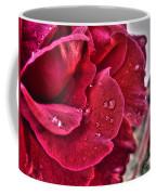 Red Rose And Summer Rain Coffee Mug