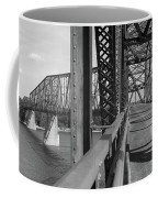 Route 66 - Chain Of Rocks Bridge Coffee Mug