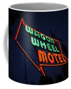 Route 66 - Wagon Wheel Motel Coffee Mug