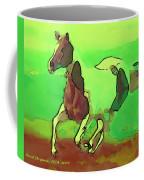 Running Horse Coffee Mug