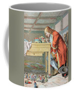 Scene From Gullivers Travels Coffee Mug by Frederic Lix