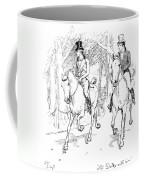 Scene From Pride And Prejudice By Jane Austen Coffee Mug