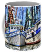 Shrimp Boats Season Coffee Mug