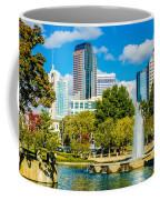 Skyline Of A Modern City - Charlotte North Carolina Usa Coffee Mug