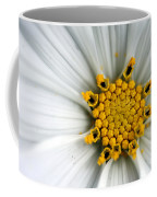Sonata Cosmos White Coffee Mug