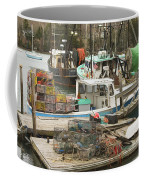 South Bristol And Fishing Boats On The Coast Of Maine Coffee Mug