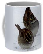 3 Sparrows Coffee Mug