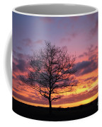 Spectacular Sunset Epsom Downs Surrey Uk Coffee Mug
