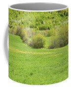 Spring Farm Landscape In Maine Coffee Mug by Keith Webber Jr