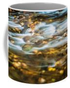 Stream Fall Colors Great Smoky Mountains Painted  Coffee Mug