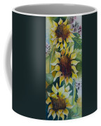 3 Sunflowers Coffee Mug