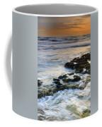 Sunset At The Mediterranean Sea Coffee Mug