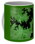 Sydney Street Map - Sydney Australia Road Map Art On Color Coffee Mug