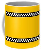 Taxi Background Coffee Mug