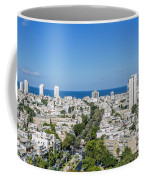 Tel Aviv Israel Elevated View Coffee Mug