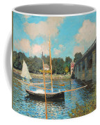 The Bridge At Argenteuil Coffee Mug