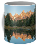 The Grand Tetons Schwabacher Landing Grand Teton National Park Coffee Mug
