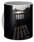 The River Thames At Hampton Court London Coffee Mug