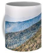 The Simple Layers Of The Smokies At Sunset - Smoky Mountain Nat. Coffee Mug