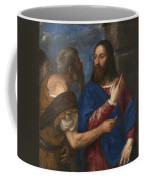 The Tribute Money Coffee Mug