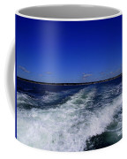 The Wake Of The Island Queen Coffee Mug
