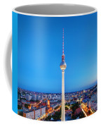 Tv Tower Or Fersehturm In Berlin Coffee Mug