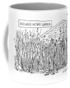 Declared Victory Garden Coffee Mug