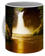 Upper Punch Bowl Falls Coffee Mug