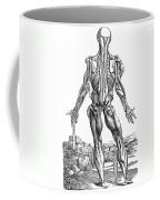 Vesalius: Muscles, 1543 Coffee Mug