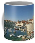 View Of Dubrovnik In Croatia Coffee Mug