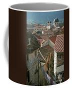 View Of Kotor Town In Montenegro Coffee Mug