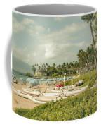 Wailea Beach Maui Hawaii Coffee Mug by Sharon Mau
