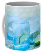 Water In Blue Coffee Mug