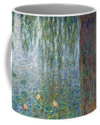Waterlilies Morning With Weeping Willows Coffee Mug