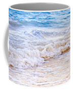 Waves Breaking On Tropical Shore Coffee Mug by Elena Elisseeva