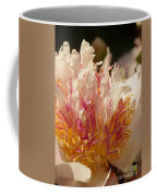 White And Pink Peony 2 Coffee Mug