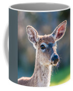 White Tail Deer Bambi In The Wild Coffee Mug