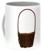 Wicker Basket Number Ten Coffee Mug