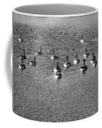 Wild Birds And Pond Coffee Mug