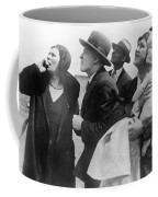 Willi Ruge Parachute Photos Coffee Mug