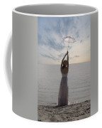 Woman At The Beach Coffee Mug