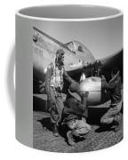 Wwii: Tuskegee Airmen, 1945 Coffee Mug by Granger