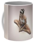 Yoga Bound Angle Pose Coffee Mug