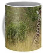 Young Giraffe In Kenya Coffee Mug