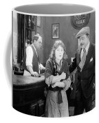 Silent Film Still: Drinking Coffee Mug by Granger