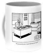 We Structured The Deal So It Won't Make Any Sense Coffee Mug by Bruce Eric Kaplan