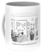Finally The Cat's Away Coffee Mug